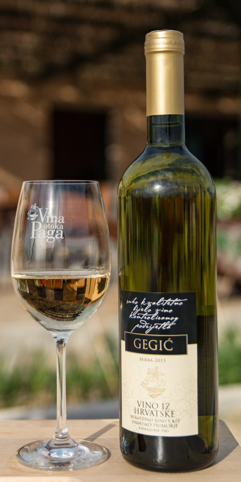 GEGIĆ - Wines of the Island of Pag
